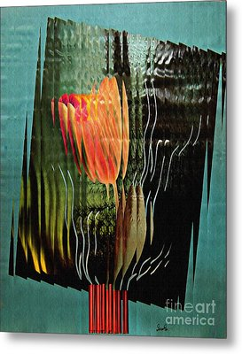 Electric Tulip 2 Metal Print