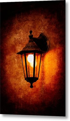 Metal Print featuring the photograph Electrical Light by Alexander Senin