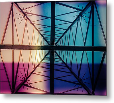 Electromagnetic Fields Metal Print