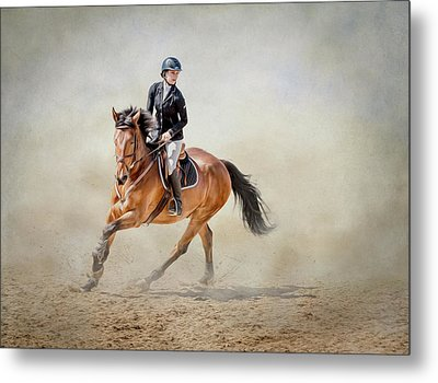 Metal Print featuring the photograph Elegance In The Dust by Debby Herold