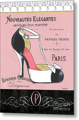 Elegant French Shoes 1 Metal Print