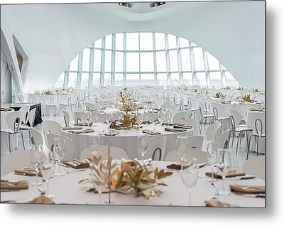 Elegant Room Setting Metal Print by Keith Homan