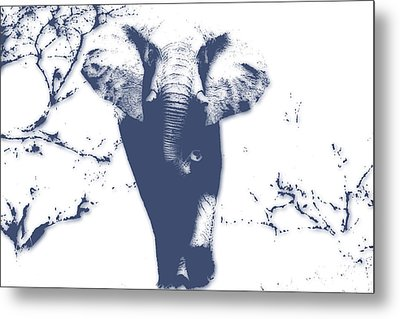 Elephant 3 Metal Print by Joe Hamilton
