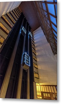 Metal Print featuring the photograph Elevated by Randy Scherkenbach