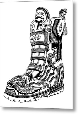 Elevated Soles No.2 Metal Print by Kenal Louis