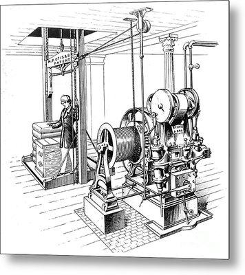 Elevator, 1862 Metal Print by Granger