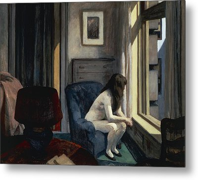 Eleven Am Metal Print by Edward Hopper