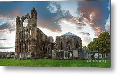 Elgin Cathedral Metal Print by Jane Rix
