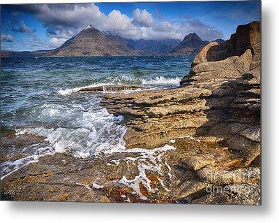 Elgol, Isle Of Skye Metal Print by Nichola Denny