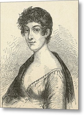 Elisabeth Charlotte Pauline De Meulan Metal Print