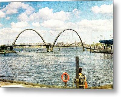 Elizabeth Quay, Perth, Western Australia Metal Print by Elaine Teague