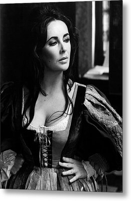 Elizabeth Taylor In The Taming Of The Shrew Metal Print by Unknown