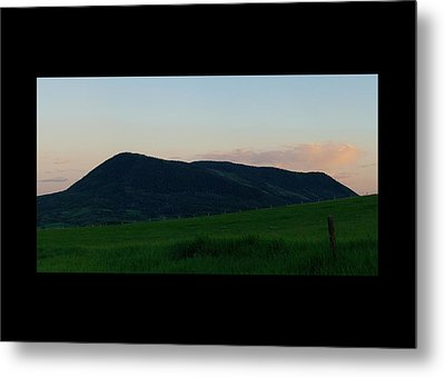 Elk Mountain Meadow Sunset Metal Print by Daniel Hebard