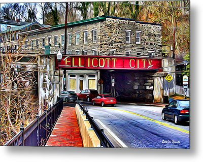 Ellicott City Metal Print by Stephen Younts