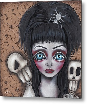 Elvira Metal Print by Abril Andrade Griffith