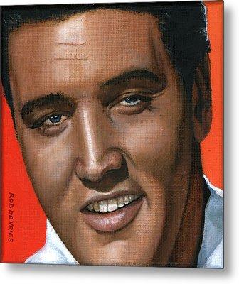 Elvis 24 1961 Metal Print by Rob De Vries
