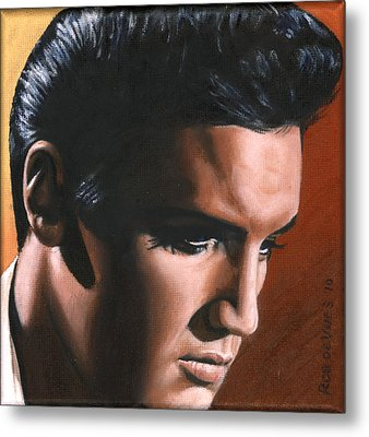 Elvis 24 1963 Metal Print by Rob de Vries