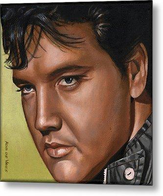 Elvis 24 1967 Metal Print by Rob De Vries