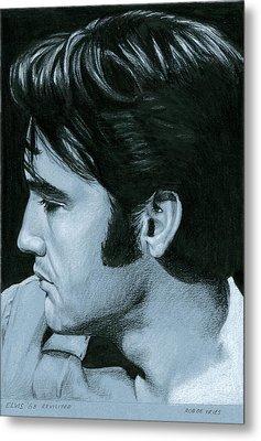 Elvis 68 Revisited Metal Print