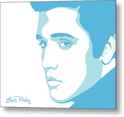 Elvis Metal Print by Mike Maher