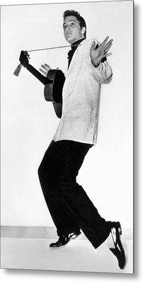 Elvis Presley In 1956 Metal Print