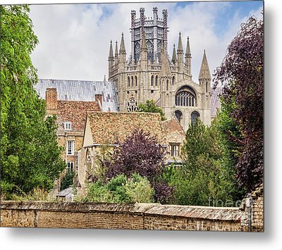 Metal Print featuring the photograph Ely Cathedral, England by Colin and Linda McKie