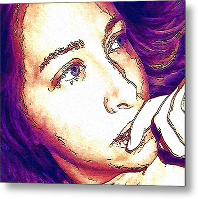 Metal Print featuring the digital art Ely by Ely Arsha