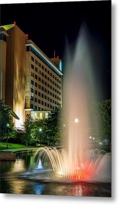 Metal Print featuring the photograph Embassy Suites Huntsville by David Morefield