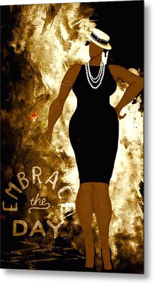 Embrace The Day Metal Print
