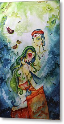 Embracing Love Metal Print