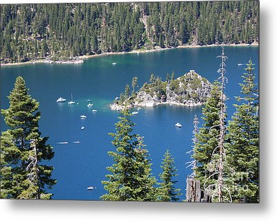 Emerald Bay Metal Print by Carol Groenen