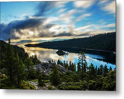 Metal Print featuring the photograph Emerald Bay Sunrise Lake Tahoe by Brad Scott