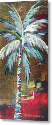 Emerald Fire Palm  Metal Print by Kristen Abrahamson