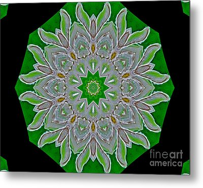 Emerald Green Metal Print by Marsha Heiken