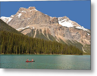 Emerald Lake Metal Print