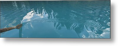 Emerald Lake Glacier Waters Metal Print by Angela A Stanton