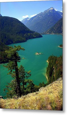 Emerald Lake Metal Print by Marty Koch