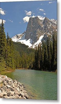 Emerald Lake Vista Metal Print