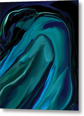 Emerald Love Metal Print by Rabi Khan