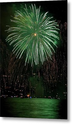Emerald Sky Metal Print by David Patterson
