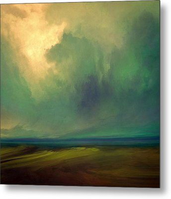 Emerald Sky Metal Print by Lonnie Christopher