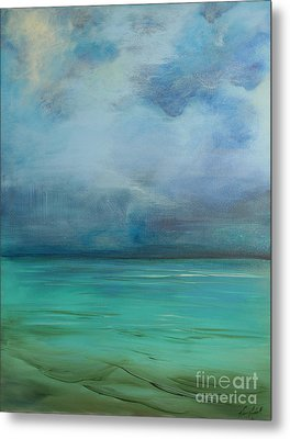 Emerald Waters Metal Print by Michele Hollister - for Nancy Asbell