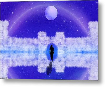 Metal Print featuring the digital art Emily's Journey Part II by Bernd Hau