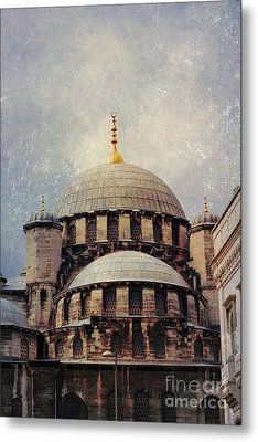 Eminonu New Mosque Metal Print by Mohamed Elkhamisy