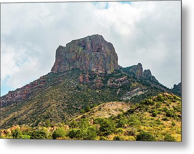Emory Peak Chisos Mountains Metal Print
