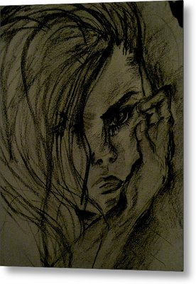 Emotion Metal Print