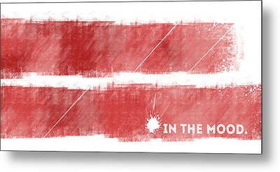 Emotional Art In The Mood Metal Print