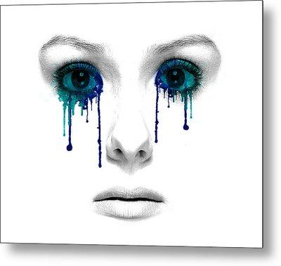 Emotional Expression Metal Print