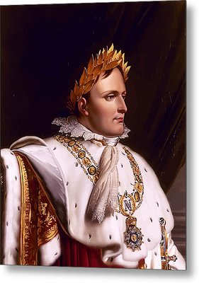 Emperor Napoleon Bonaparte  Metal Print by War Is Hell Store