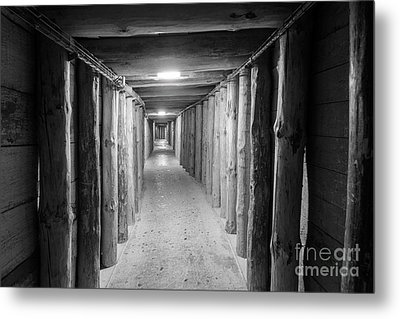Metal Print featuring the photograph Empty Corridor by Juli Scalzi